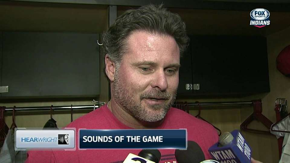 Giambi on returning from the DL