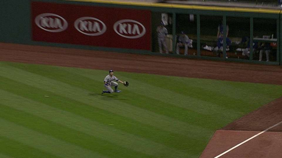 Aoki's diving catch