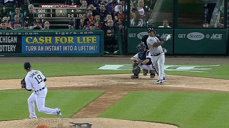 Viciedo's RBI double