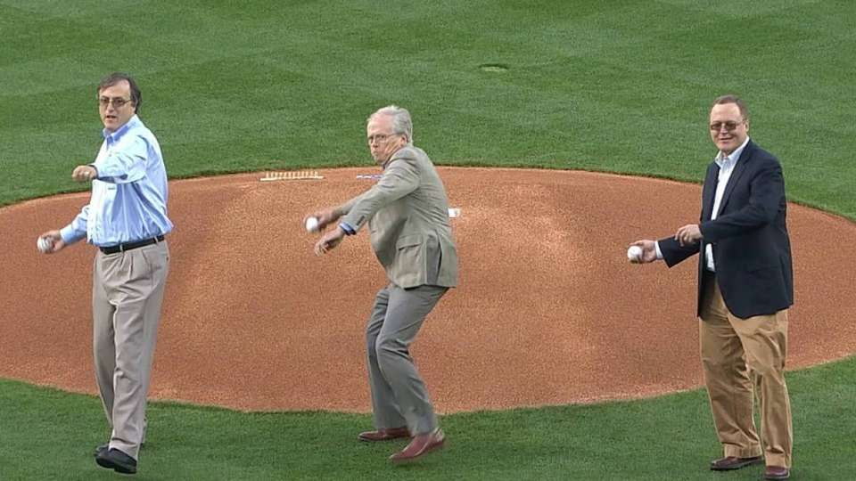 Dodgers honor Dr. Jobe