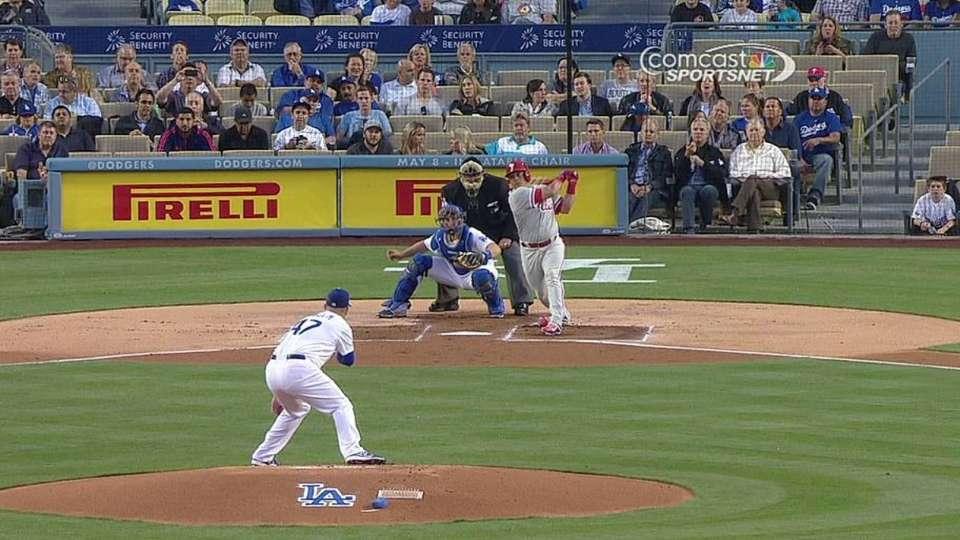 Ruiz's two-run double