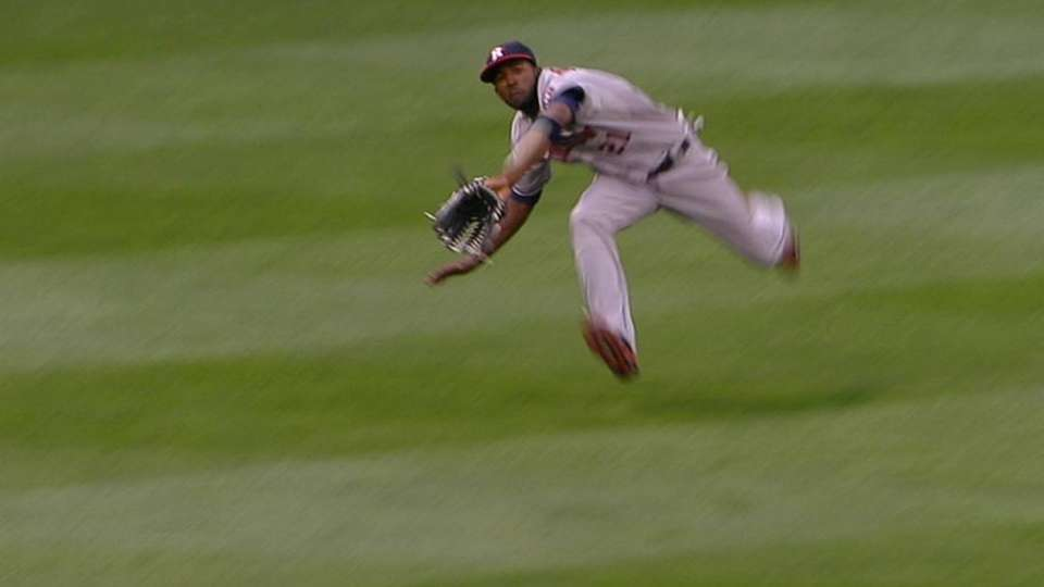 Fowler's diving catch