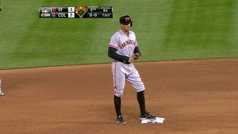 Pence's ground-rule double