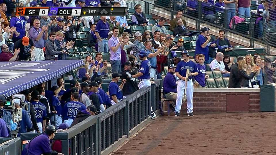 Rockies show off their power