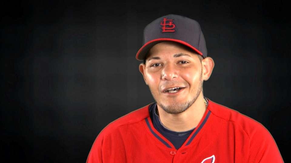 Molina giveaways at the ballpark