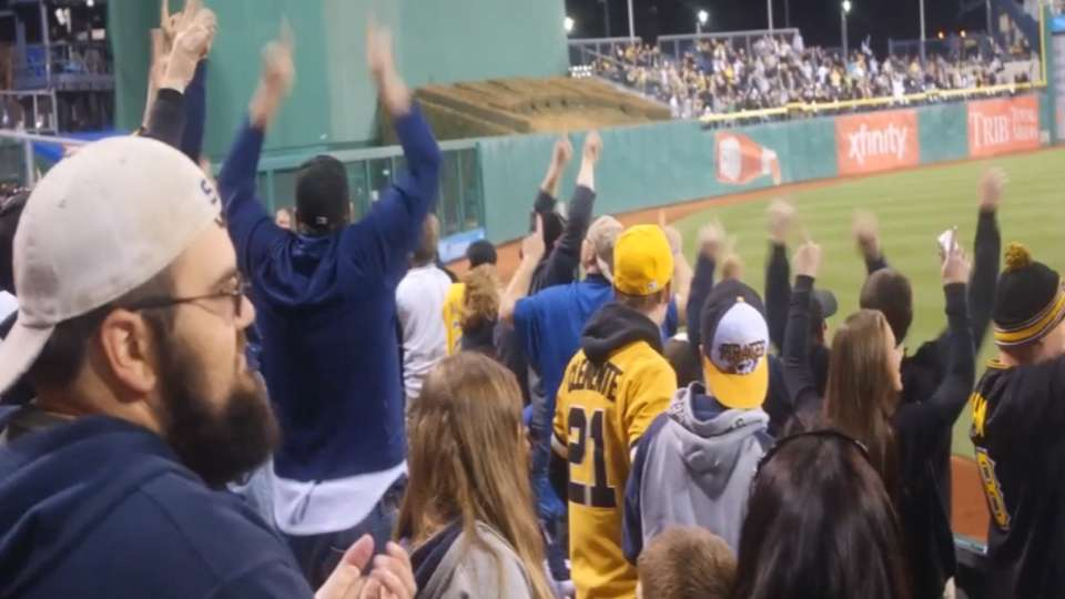 'YES!' movement hits PNC Park