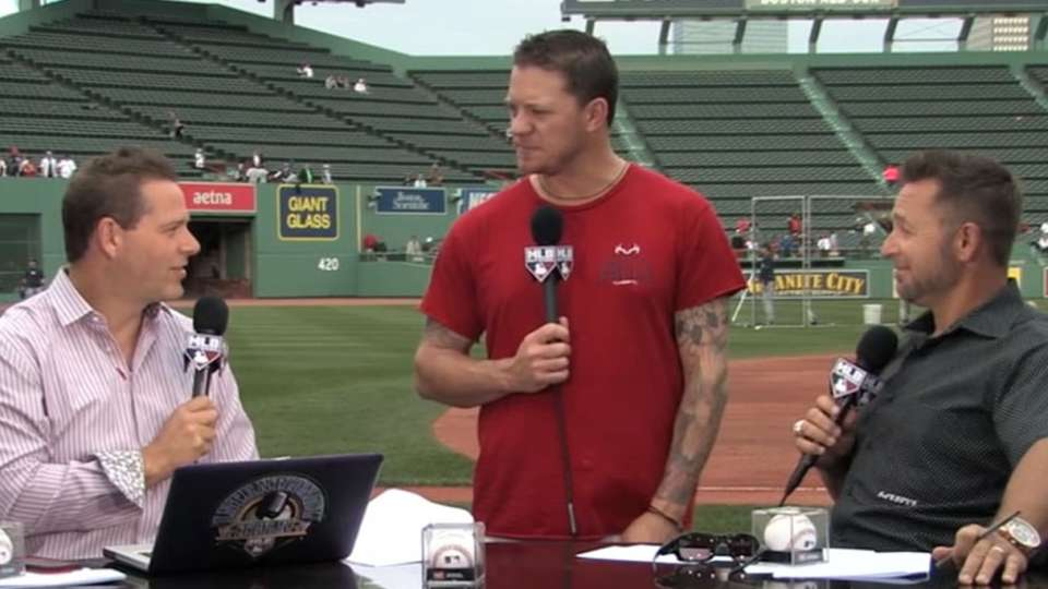 Peavy joins Intentional Talk