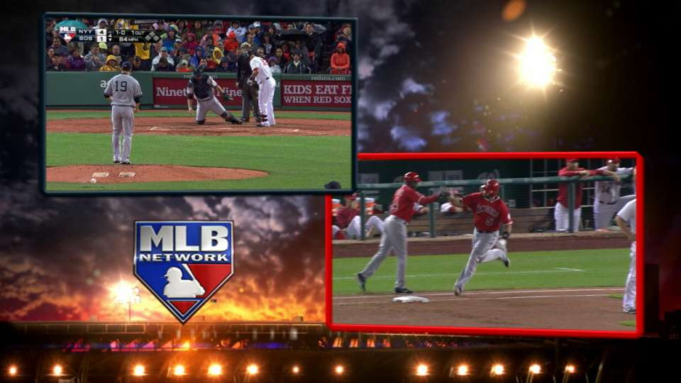 MLB Network catches homers live