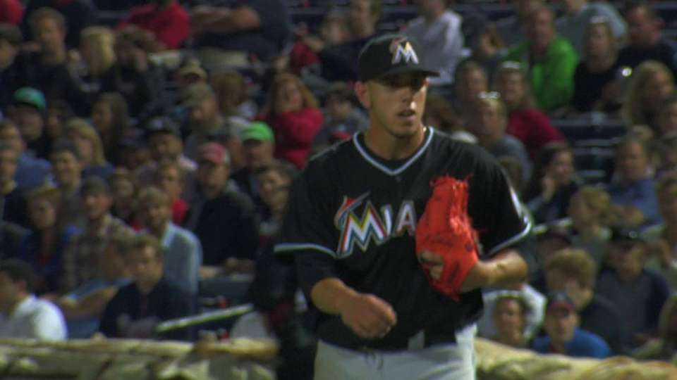 Fernandez ends the rally