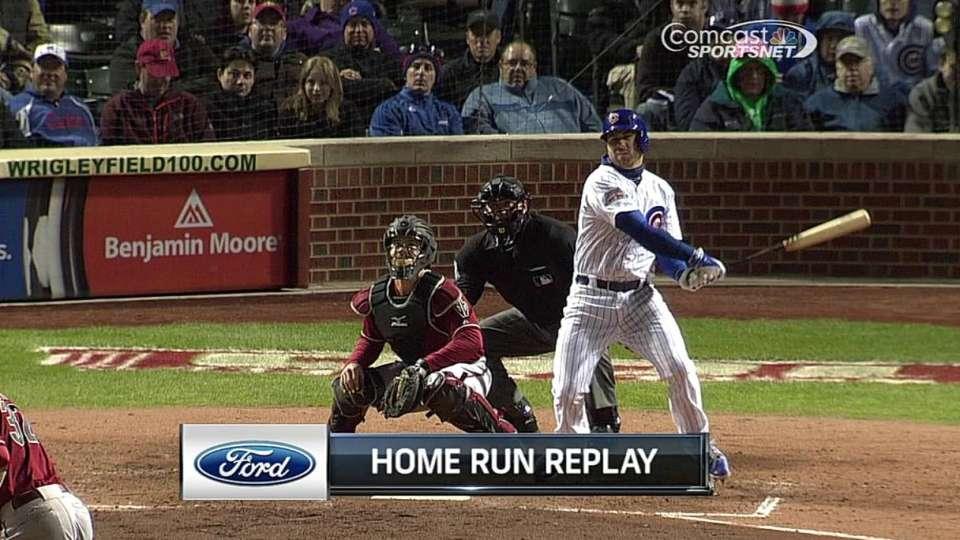 Olt's three-run homer