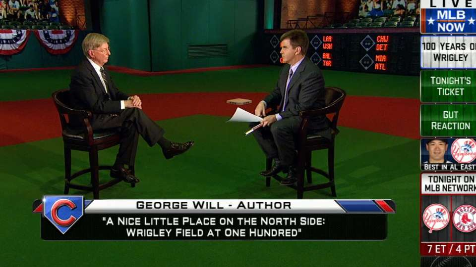 MLB Now: George Will on Wrigley