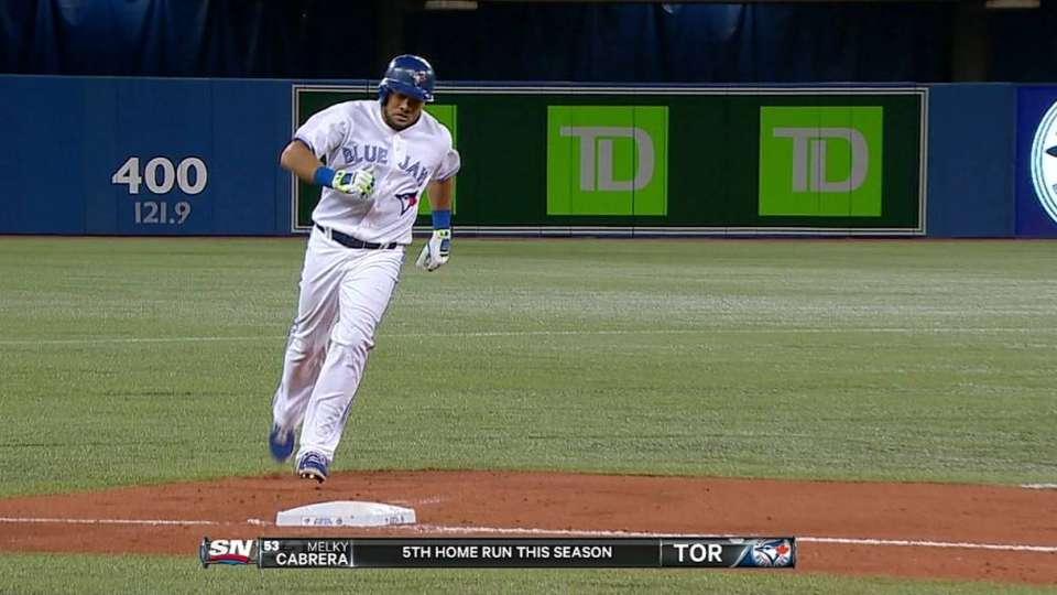 Melky's three-run homer