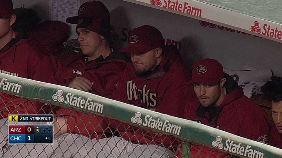 D-backs try to stay warm