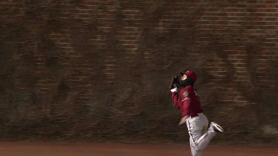 Ross' running catch