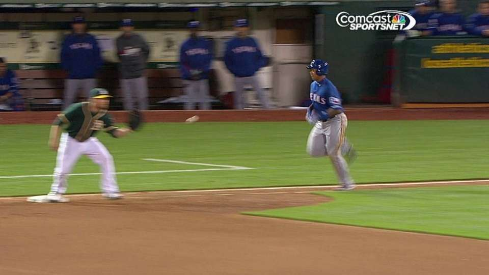 Cook's 1-6-3 double play