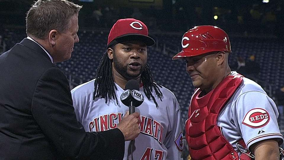 Cueto on his complete-game win