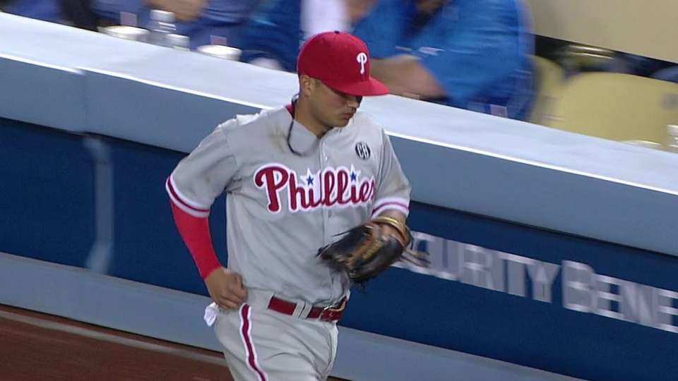 Galvis' great defensive play