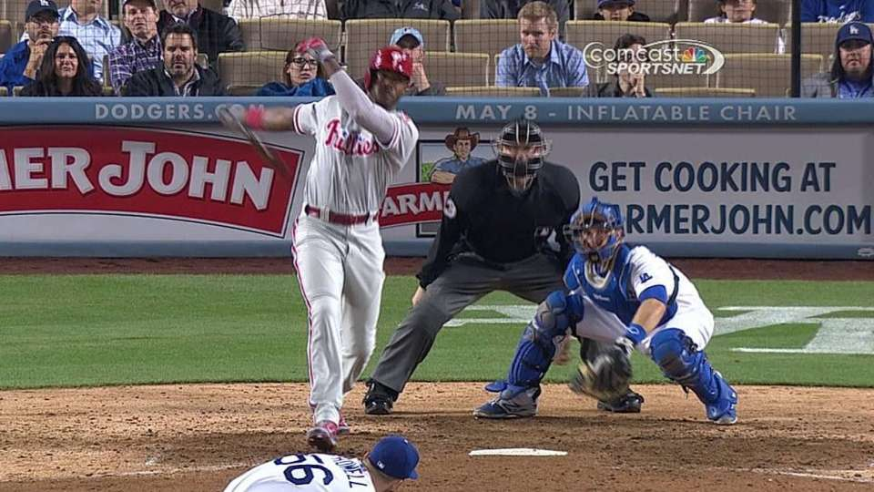 Brown's late RBI double