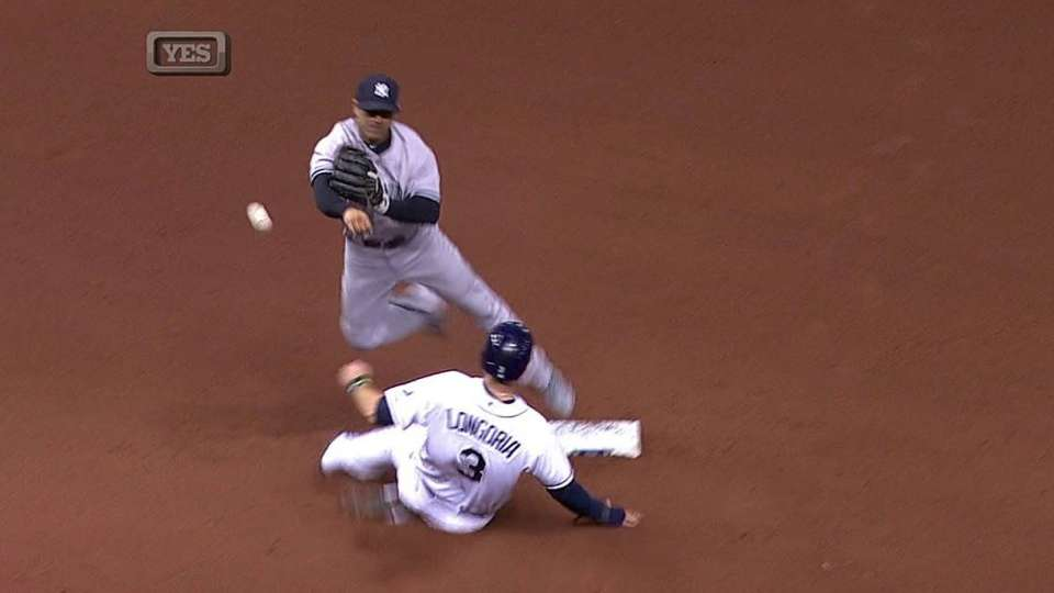 Jeter starts double play