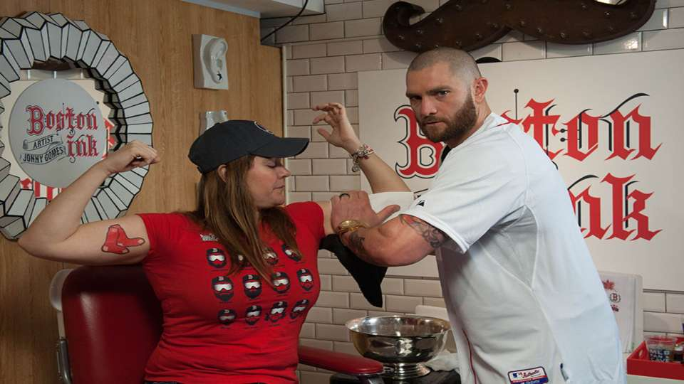 Boston Ink with Jonny Gomes