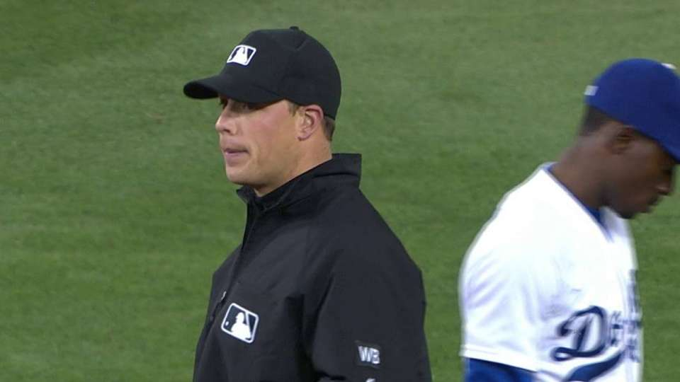 Scully discusses umpire's debut