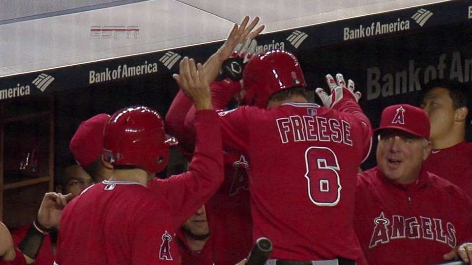 Freese's solo shot