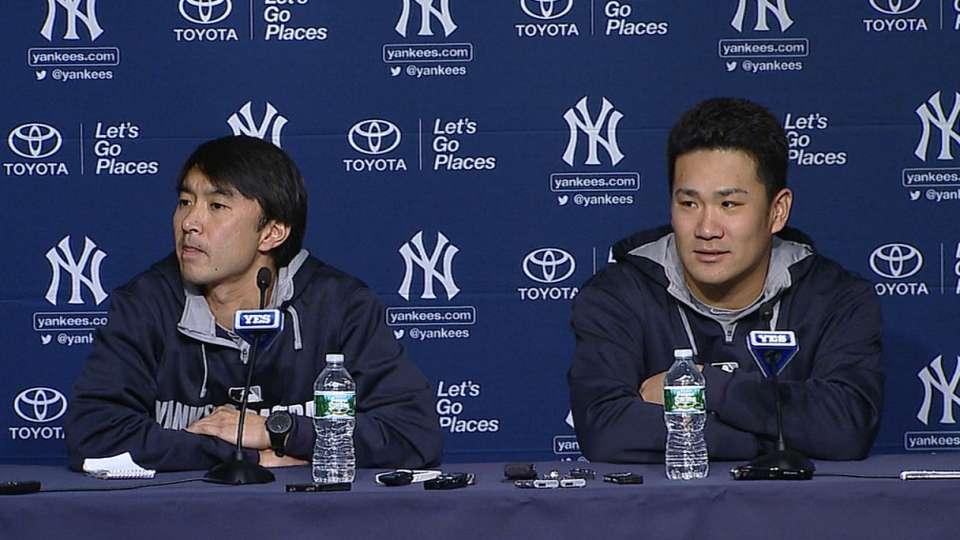 Tanaka breaks down his start