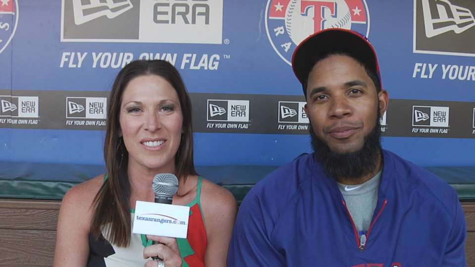 Andrus ready for homestand