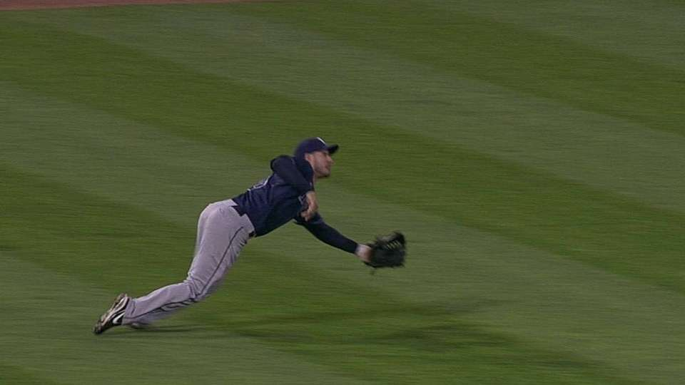 Joyce's diving double play