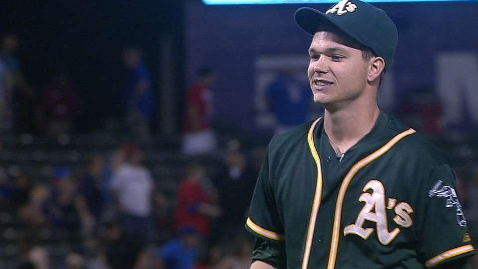 Gray's first MLB shutout