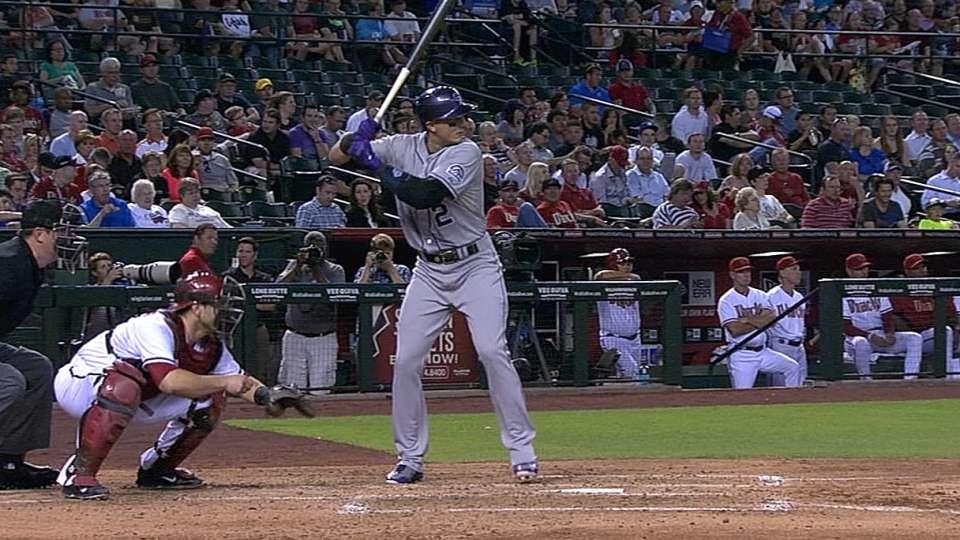 Tulo's three-hit game