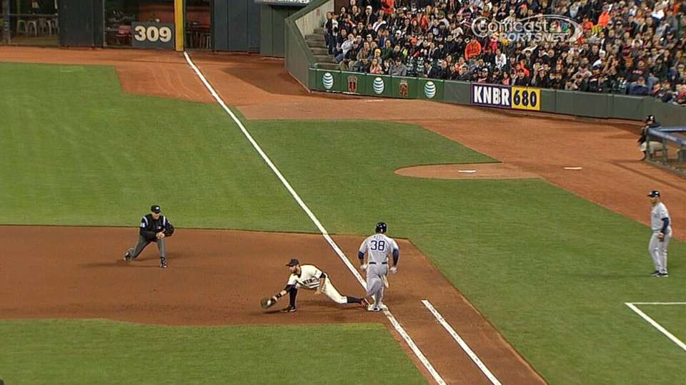 Out call is overturned at first