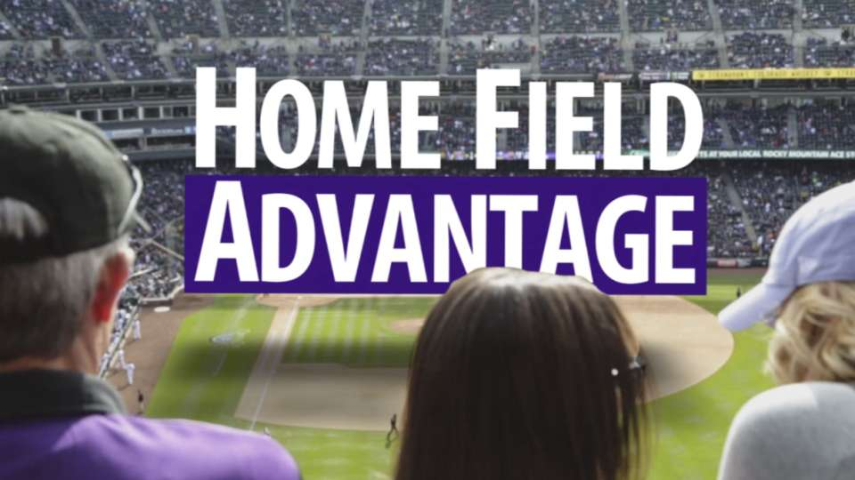 Coors' home field advantage
