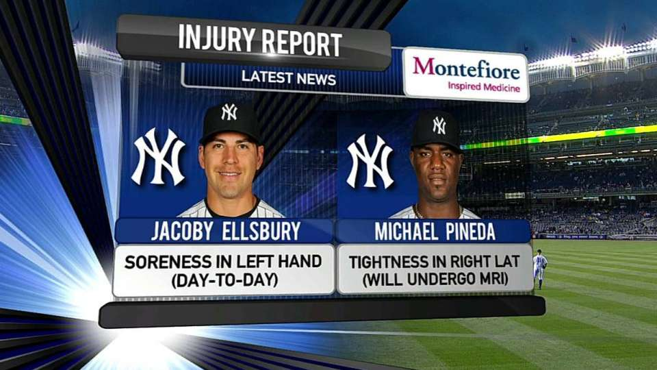 Yankees' injury update