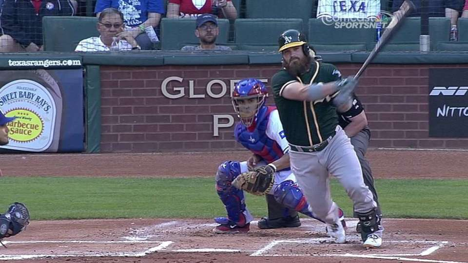 Norris' two-run double