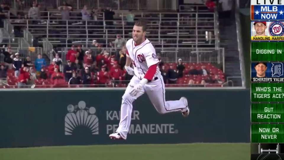 MLB Now: Polanco and Harper