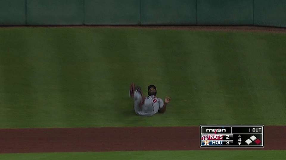 Span hits the hill