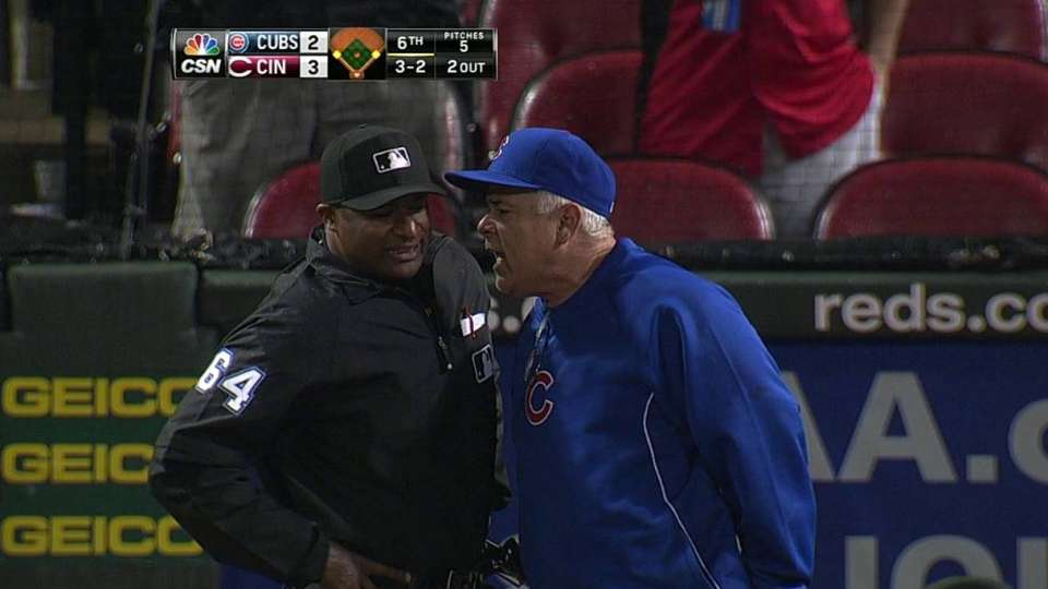 Renteria's ejection