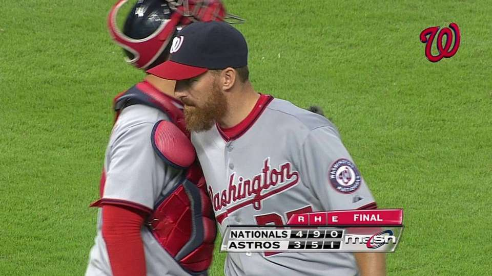 Soriano gets the save
