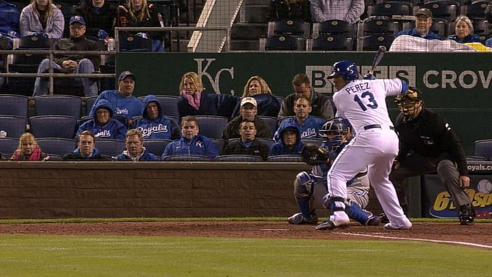 Royals' six-run 8th inning