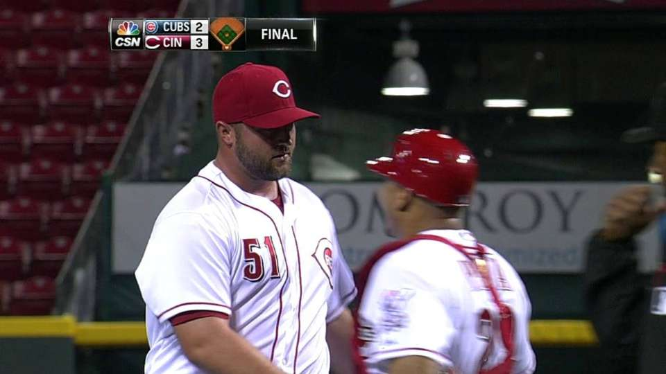 Broxton gets the save