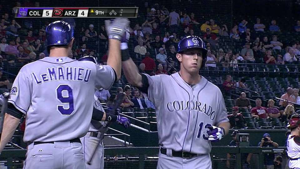 Stubbs' solo home run
