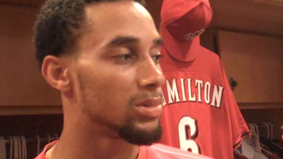 Hamilton on win vs. Cubs