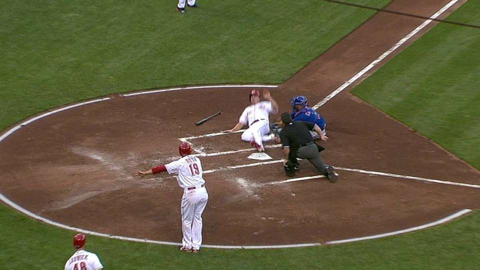 Frazier's two-run double