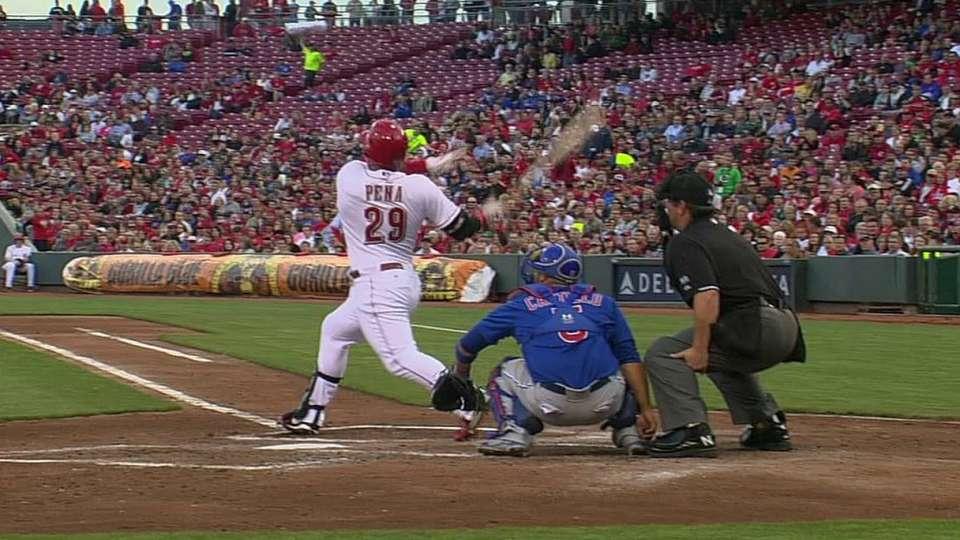 Pena's first 2014 homer