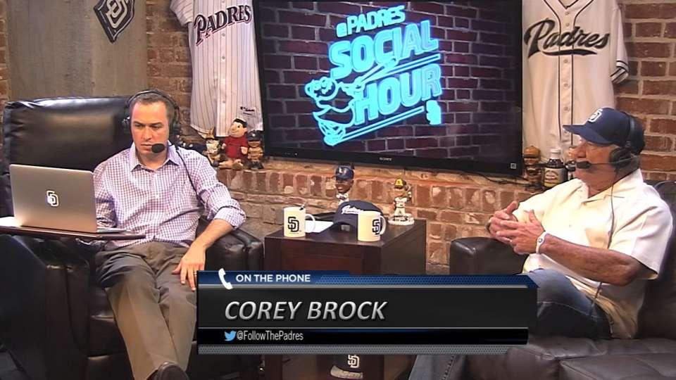 Corey Brock visits Social Hour