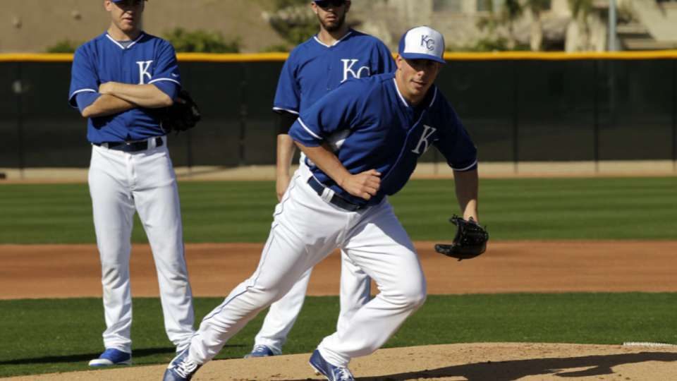 Royals take it slow with Zimmer