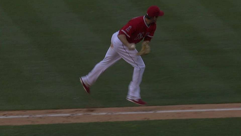 Freese's heads-up play