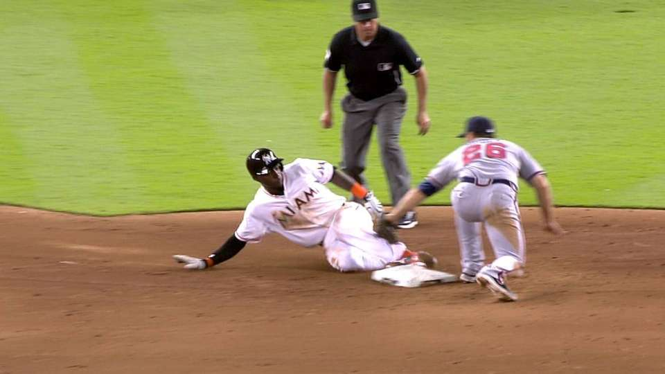 Out call overturned in 5th