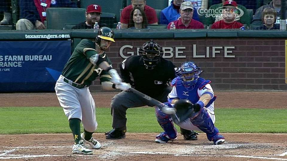 Sogard's two-run single
